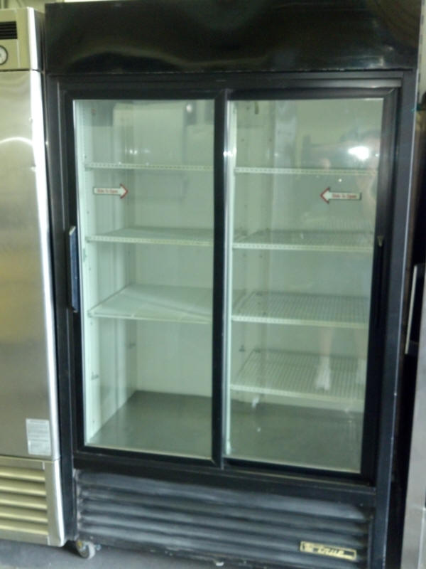 2 Door Glass Refrigerator Rental Las Vegas