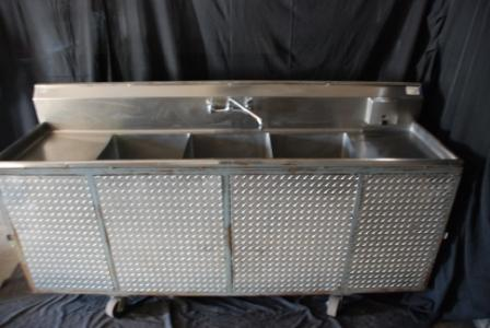 Commercial Three Compartment Sink Rental