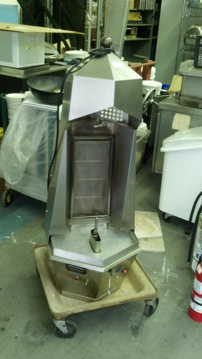 Vertical Gyro Broiler