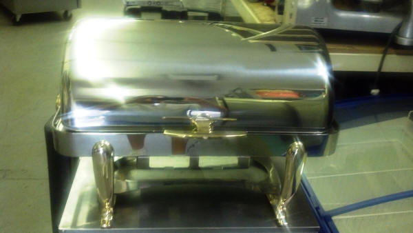 Roll Top Chafing Dish Rental