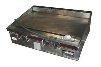 Stainless Steel Flat Top Griddle Rental