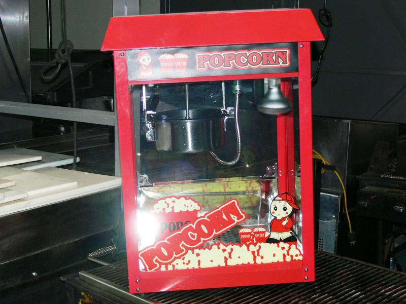 popcorn machine rental las vegas
