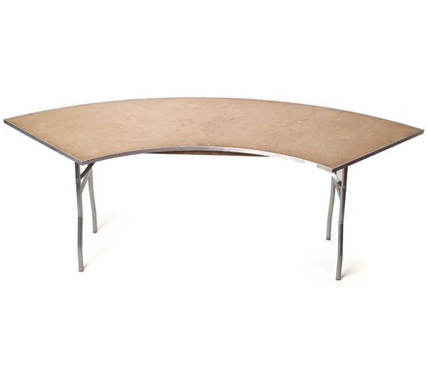 Serpentine Table Rental