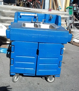 Cambro Hand Sink Rental