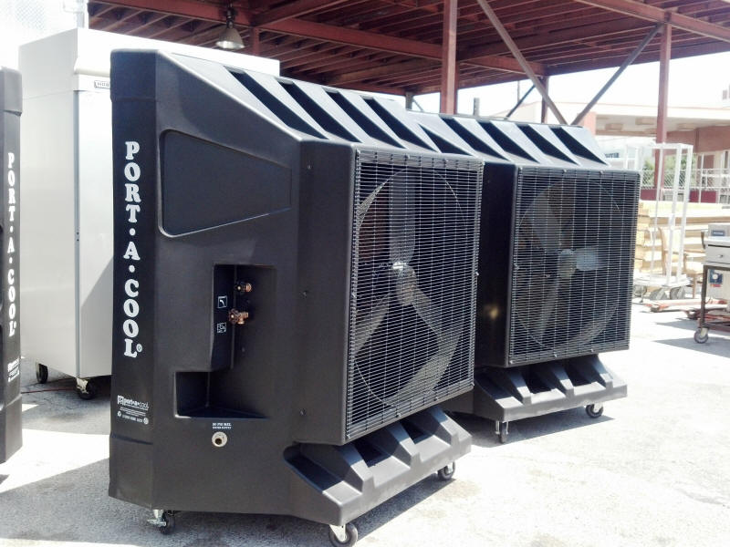 Portable Cooling Fan Rental Air Conditioners Las Vegas