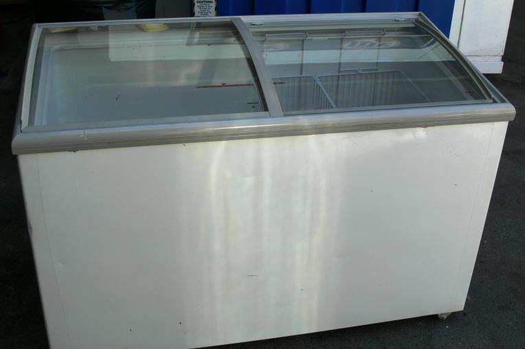 Ice Cream Display Freezer Rental Las Vegas