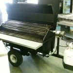 Mobile Rotisserie BBQ Grill