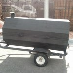 Tow Behind Charcoal Grill Rental