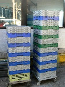 Glass Rack Rental