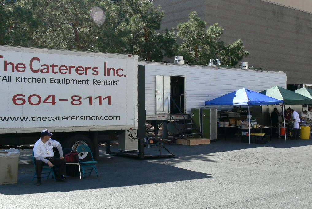 Large Portable Kitchen For Rent