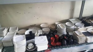 Used Commercial Restaurant Dishes Plates