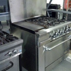 Commercial Gas Range Rental
