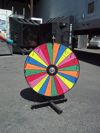 Prize Wheels For Rent Las Vegas