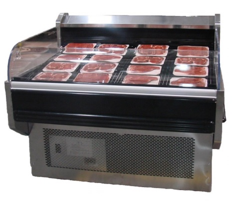 Open Air Reach In Meat Cooler Rental
