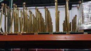Rent Brass Gold Stanchions Las Vegas